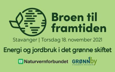 Broen til framtiden: Energi og jordbruk i det grønne skiftet