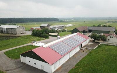Solenergi i landbruket