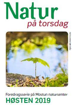 Høstprogram: Natur på torsdag
