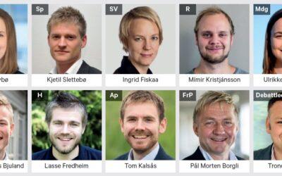 Årets store valgdebatt om vindkraft og natur